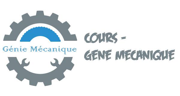 Cours- Génie Mécanique