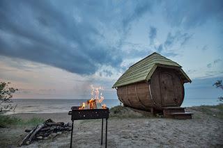 brīvdienu māja pie jūras
