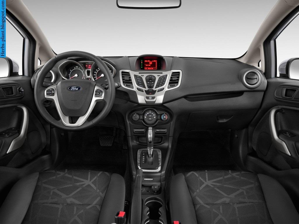 Ford fiesta car 2013 dashboard - صور تابلوه سيارة فورد فيستا 2013