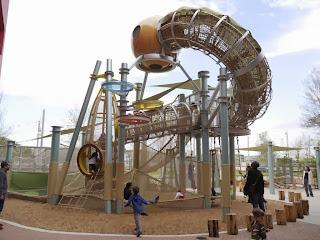 The Thinkery playground in Austin