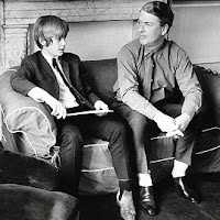 Martin and Kingsley Amis in 1965