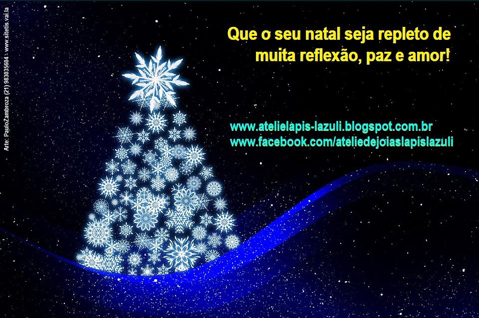 Natal com presentes Lapis Lazúli