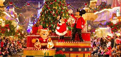 Fotos de Natal na Disney