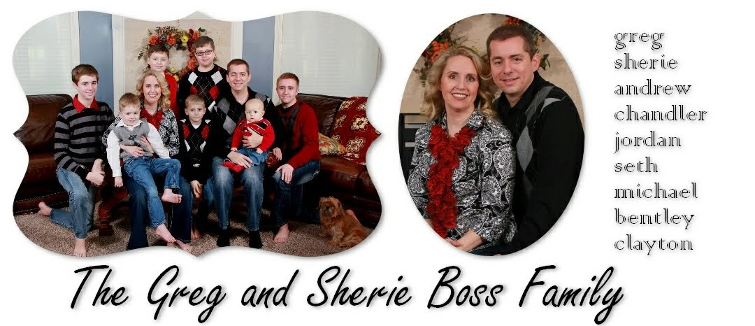 Greg and Sherie Boss Family
