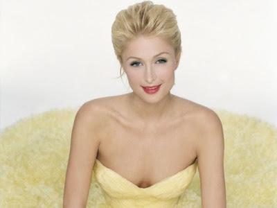 American Actress Paris Hilton Wallpaper