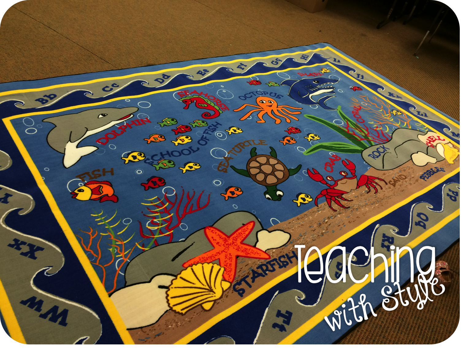 Classroom Decor Rugs ~ Win a classroom rug teaching with style