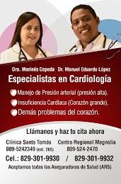 ESPECIALISTAS EN CARDIOLOGIA AL SERVICIO DE BARAHONA Y LA REGIÓN SUR