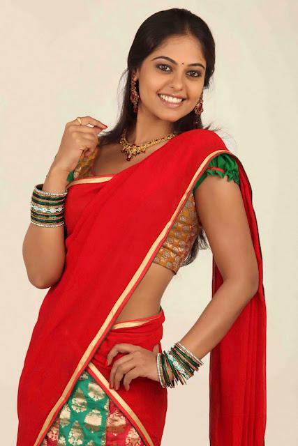 Bindu Madhavi in Half Saree 2