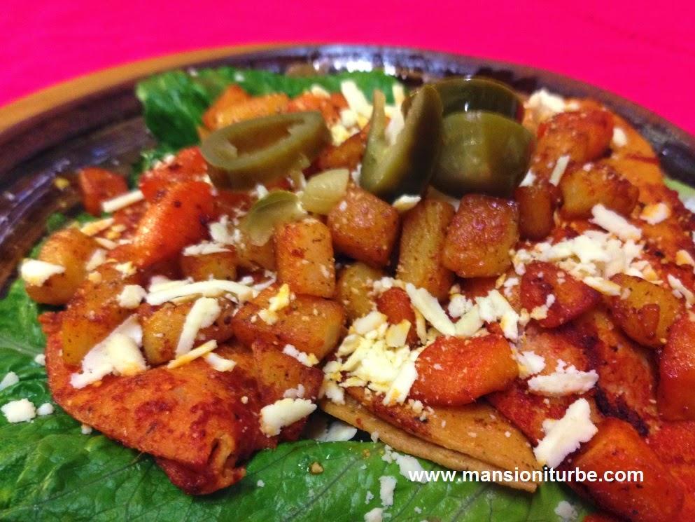 Restaurante Doña Paca en Pátzcuaro: Enchiladas Placeras