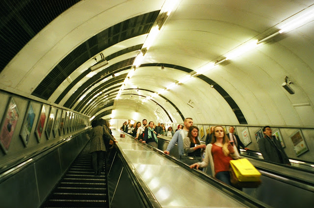 London tube interior