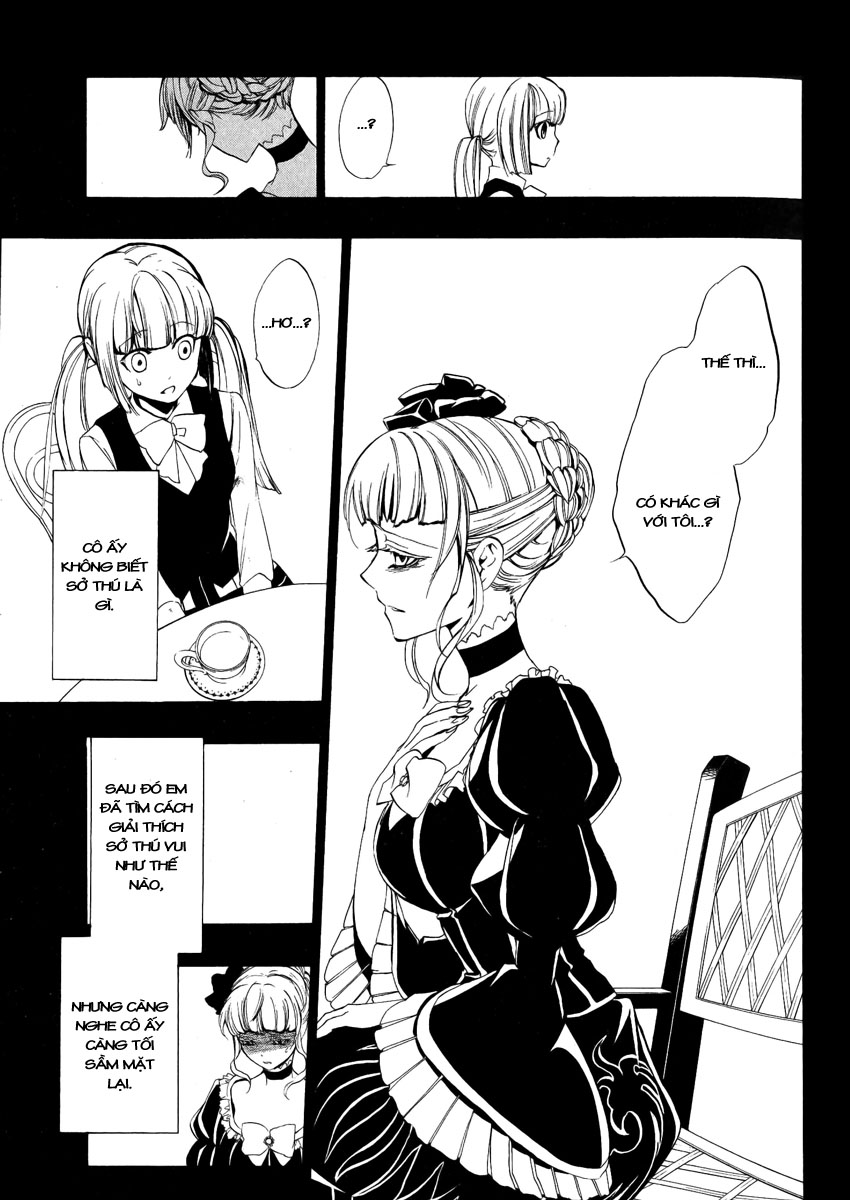 Umineko no Naku Koro ni Episode 3: Banquet of the Golden Witch chap 6 - Trang 20
