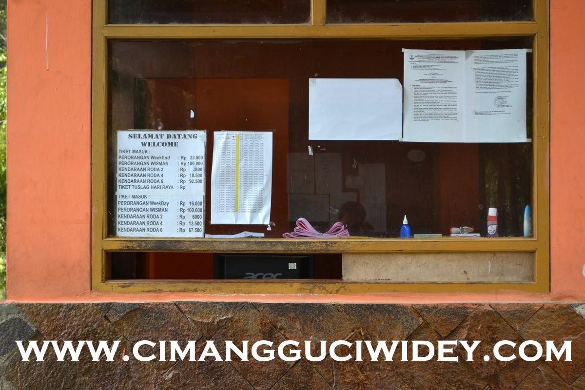 TIKET MASUK CIMANGGU CIWIDEY UPDATE 2014