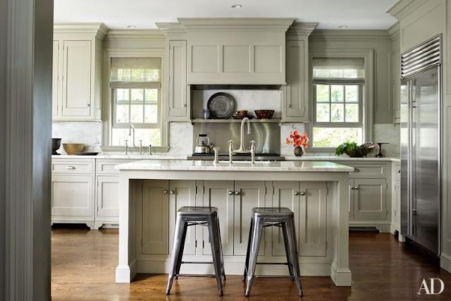 Una casa elegante decorada en tonos empolvados chicanddeco