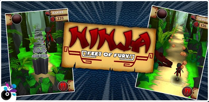 Ninja Feet of Fury v1.4 ARMv6 apk