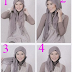 How to Wear Hijab Paris Newest Model