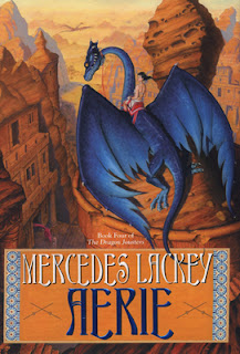 Aerie (Dragon Jousters #4) by Mercedes Lackey | Epic Fantasy | Book Review