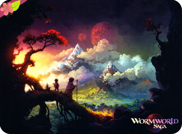 The Wormworld Saga de Daniel Lieske - éditions Dupuis