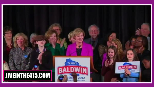 US Rep. Tammy Baldwin (D-WI) is the openly gay Senator-elect from Wisconsin.