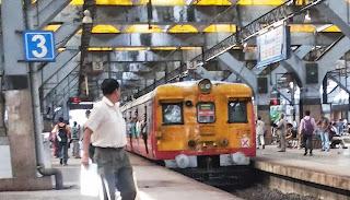 Mumbai Local Train Block