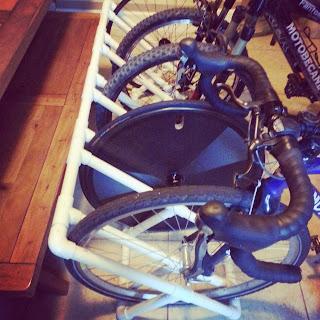 DIY Bike Rack