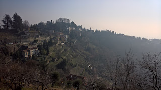 View of San Vigilio from Via Colle dei Roccoli