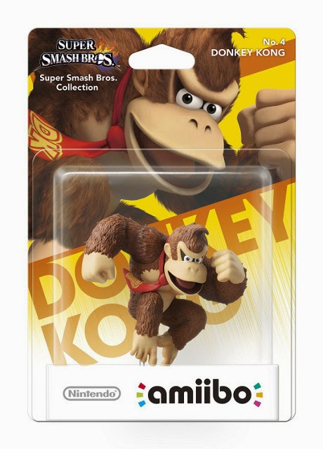 JUGUETES - NINTENDO Amiibo - 4 : Figura Donkey Kong   (28 noviembre 2014) | Videojuegos | Muñeco | Super Smash Bros Collection