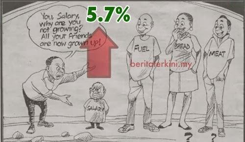 Gaji 2014 di Malaysia Sebanyak 5.7%. Berita Gembira Penjawat Awam