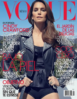 Cindy Crawford on Vogue Mexico cover