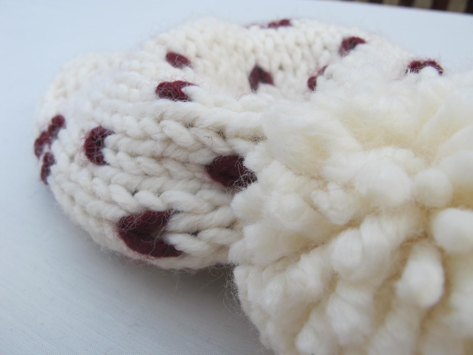 DIY Cómo hacer gorros de lana con dos agujas | | Oh, Mother Mine DIY!!