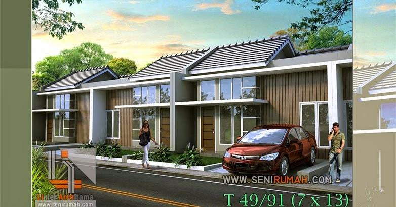desain rumah minimalis type 45 yang cantik dan menawan