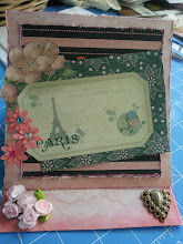 Parisian BD card for my BFF