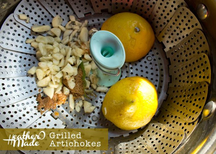Gilled Artichokes recipe