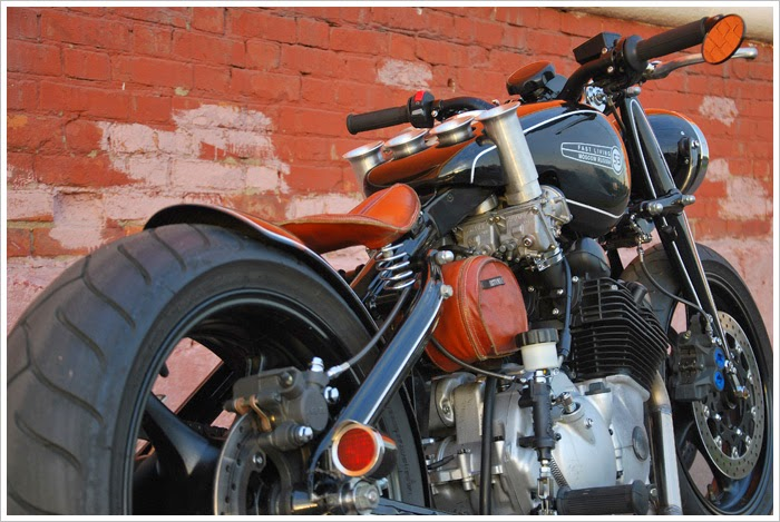 1938 DKW NZ350 | Custom bobber Custom 1938 DKW NZ350 bobber The current bobber based on 1938 DKW NZ350 has been designed by Vasily Arhipov, aeronautics engineer.