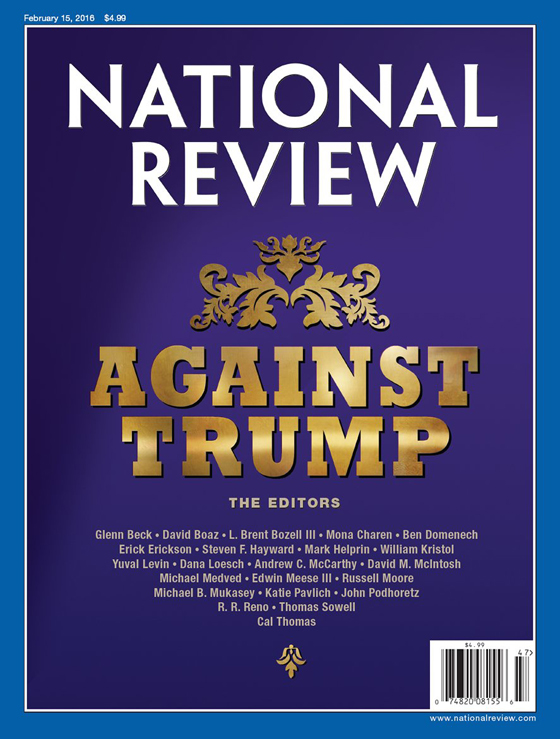 National Review - Against Trump