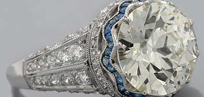 antique engagement rings one of a kind jewels with colorful history - One Of A Kind Wedding Rings