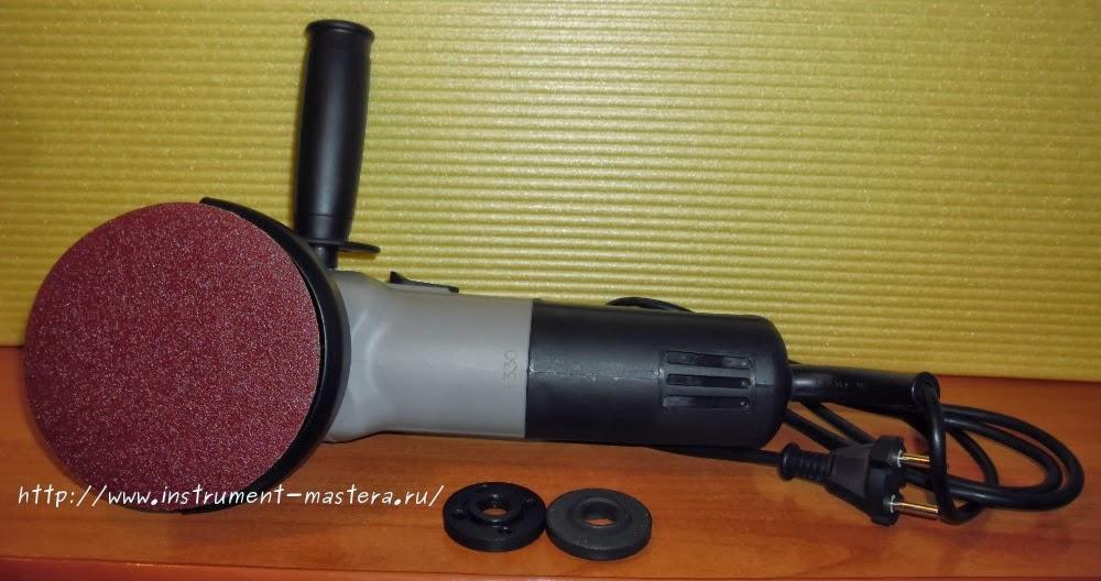 Болгарка — углошлифовальная машинка (УШМ)