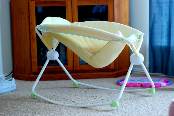 Bassinet And Rocker