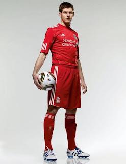 Foto Steven Gerrard 2012