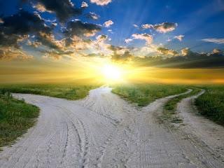 выбор путь дорога перекресток