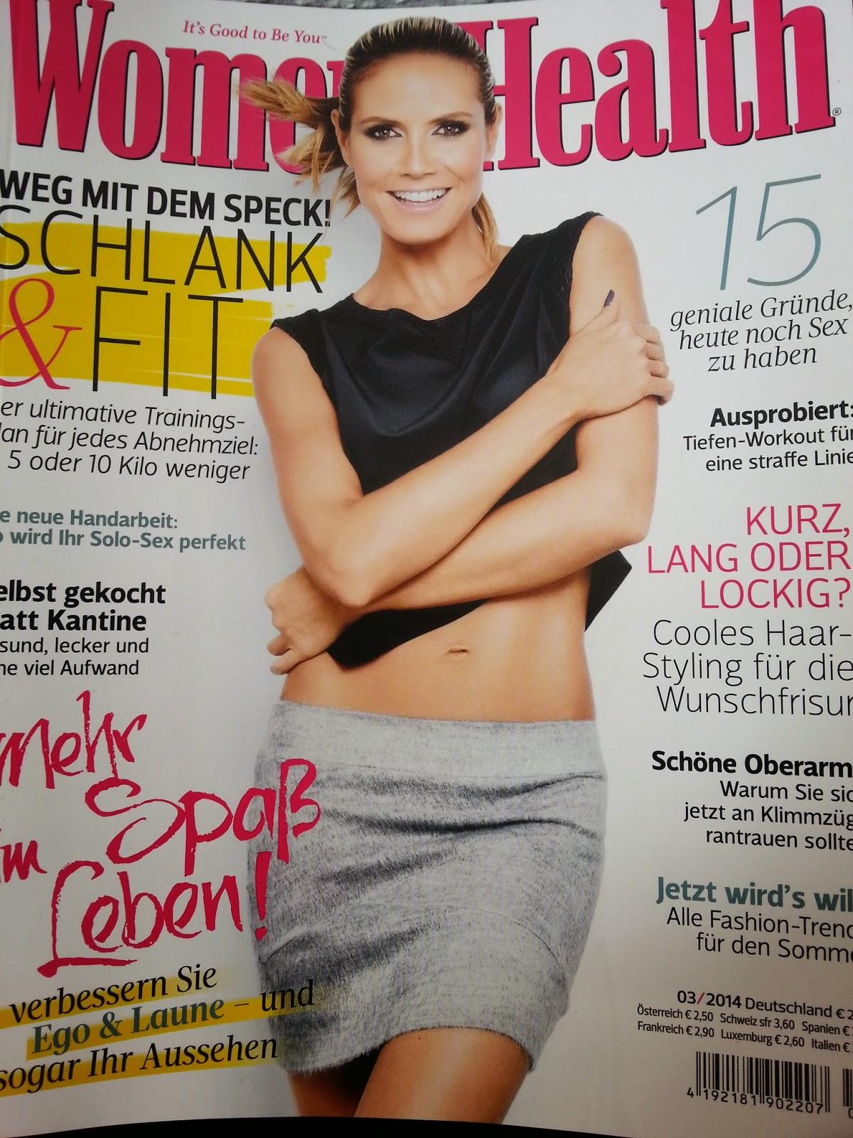 Women's Health Magazin - www.annitschkasblog.de