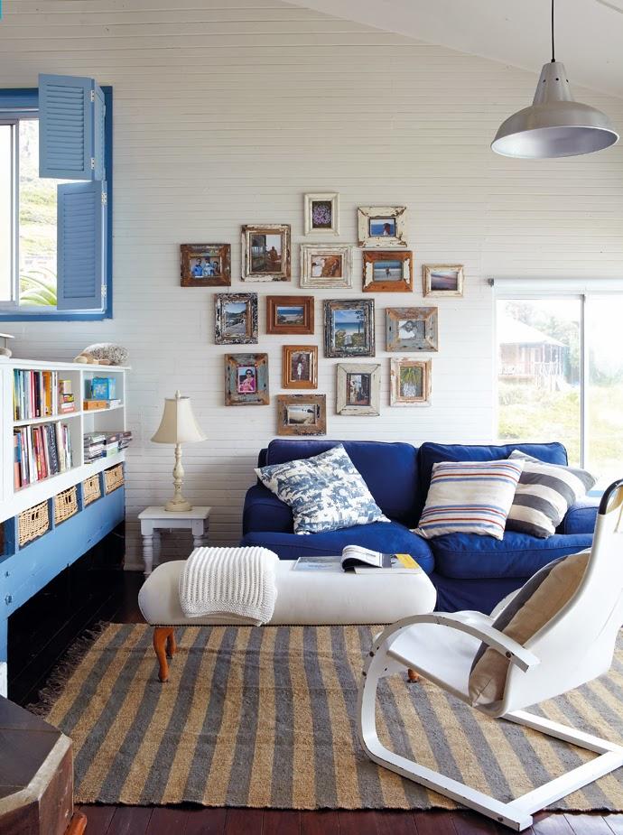 Un cottage azul sobre el mar en sud frica decoraci n - Todo casa decoracion ...