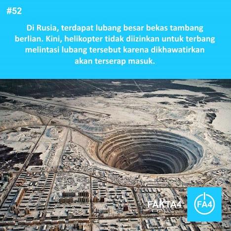 Mir Mine di Rusia