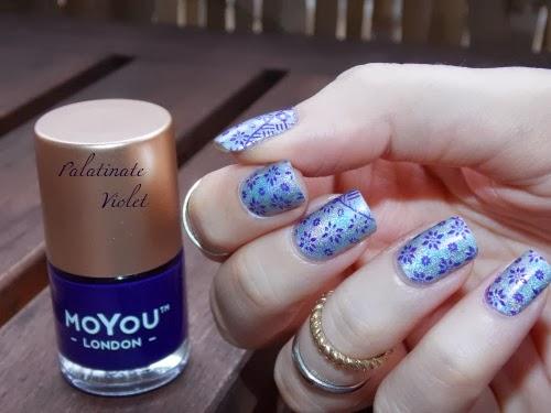 moyou london polish palatinate violet, vernis moyou london palatinate violet, violet nail polish for stamping, vernis violet pour stamping, blog nail art facile