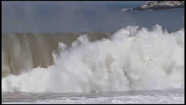 Andres Flores at Puerto - 2015 Wipeout of the Year Entry - XXL Big Wave Awards