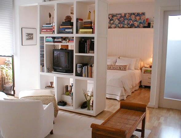 Quarto Com Sala De Tv ~ Brigadeiro de Colher Divisórias para apartamentos petit