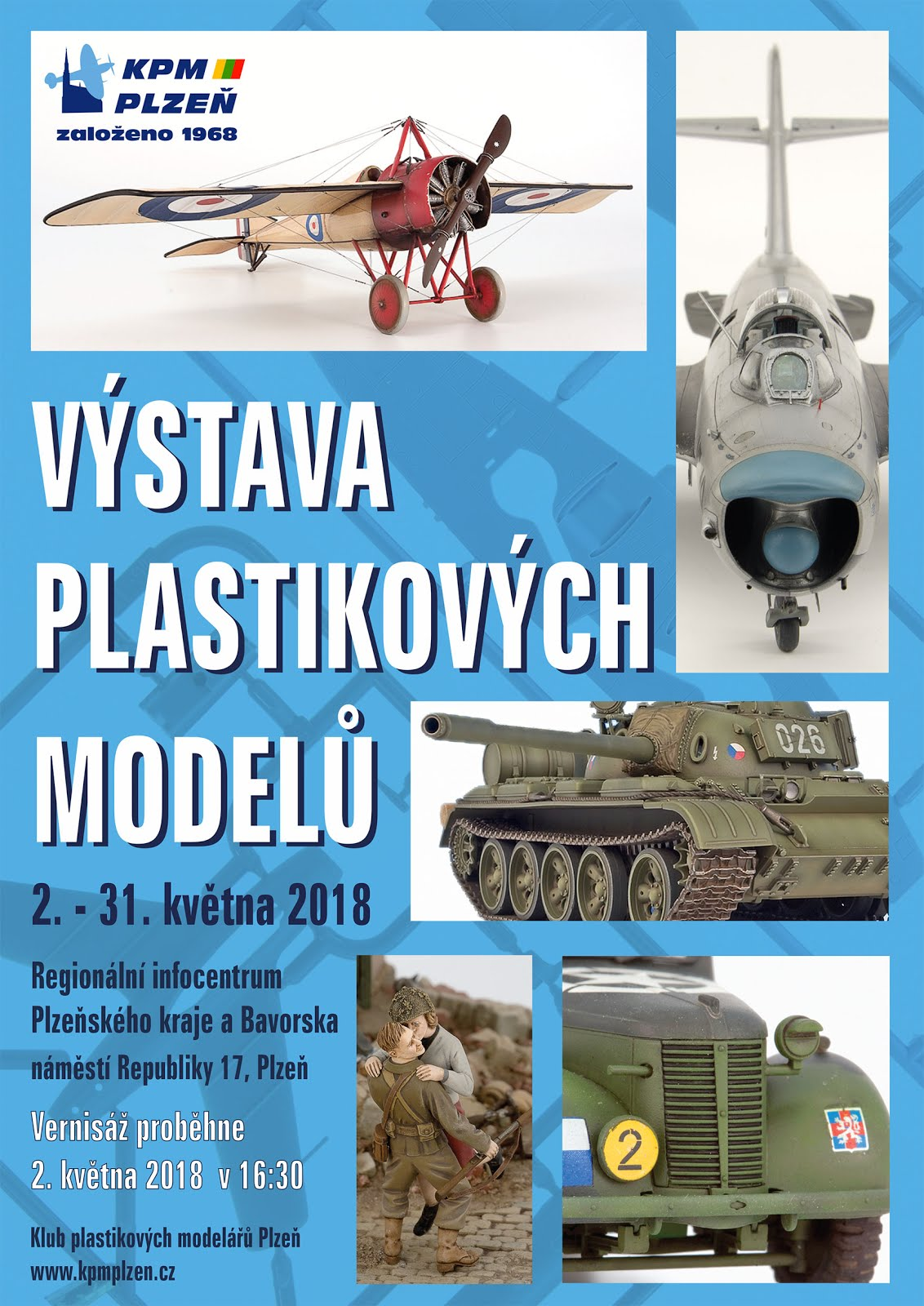 Výstava KPM Plzeň