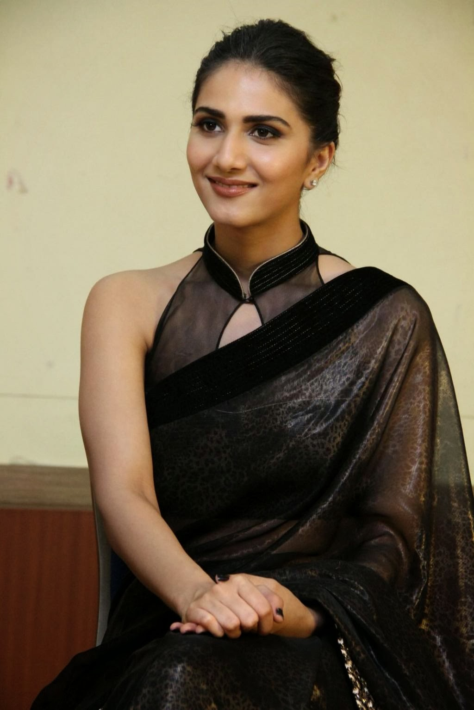 Actress Vaani Kapoor Black Saree Photos