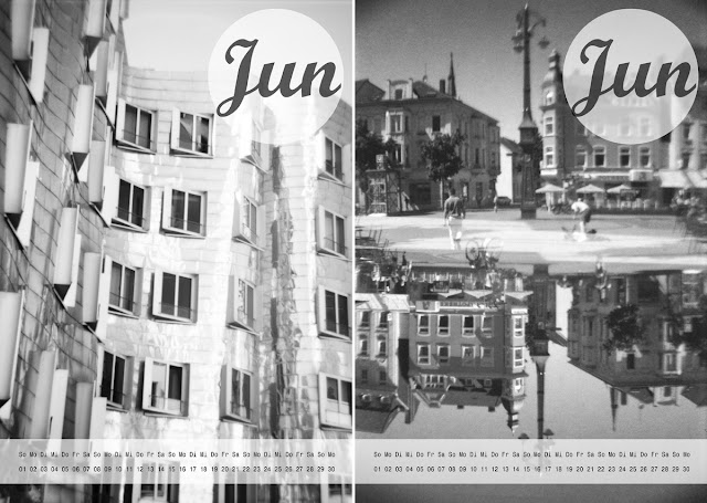 "Lomo-Kalender 2014 - Freebie zum Download - ""Fee ist mein Name"" / free 2014 Lomo calendar for download"