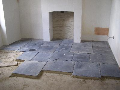 The House In The Enchanted Forest The Limecrete Floor