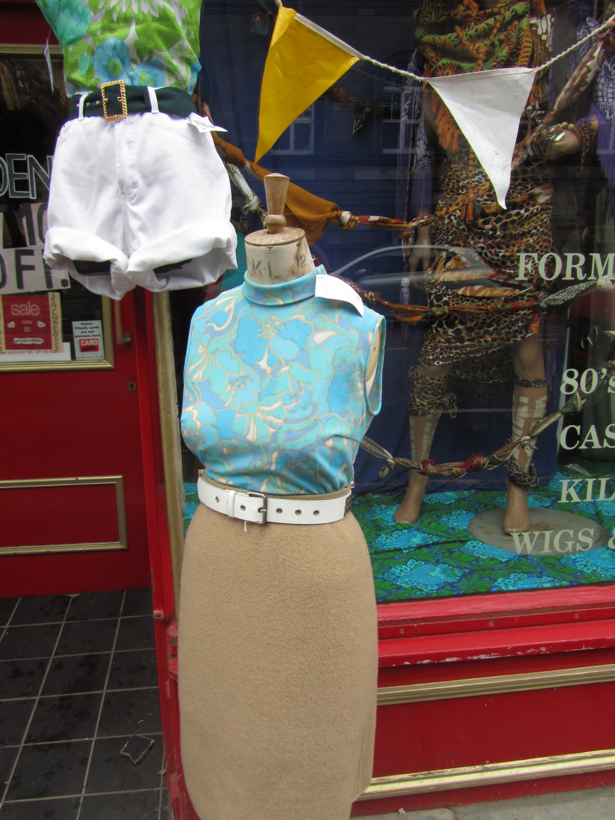 my soul is raining clothes vintage clothing review edinburgh